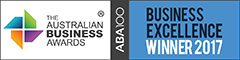 ABA100 Winner 2017 Business Excellence